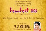 FEMFEST 2020, Intercollegiate competition
