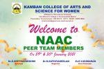 NAAC PEER TEAM EXPERTS VISIT