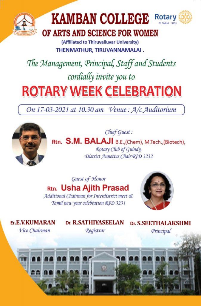 Rotary week celebration